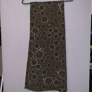 Lularoe long skirt bicycle pattern size s